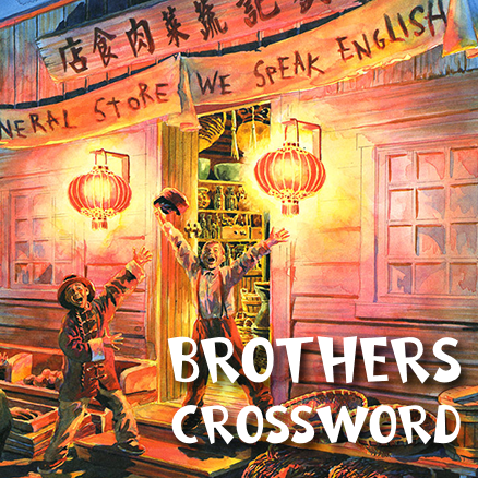 Brothers Cross Word 438×438