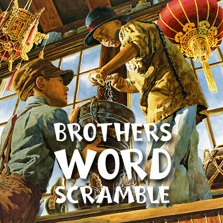 Brothers Word Scramble 438×438