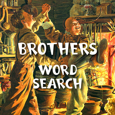 Brothers Word Search 438×438