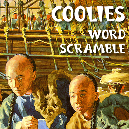 Coolies Word Scramble 438×438